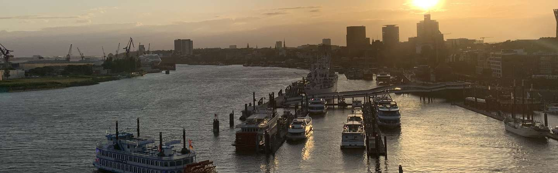 Hamburg Urlaub Hafen